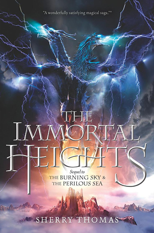 The Immortal Heights book-cover