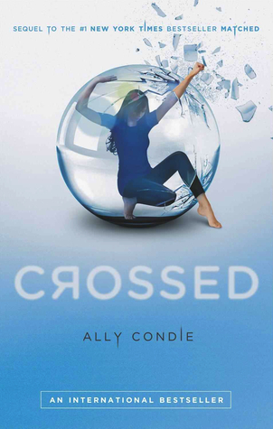 Crossed book-cover