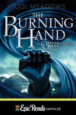 The Burning Hand book-cover